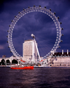 London, England: The Eye, Millenium Wheel - owned by the Tussauds Group - photo by A.Bartel