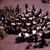 London, England: Youth Orchestra - Barbican Lakeside Terrace - The City - photo by A.Bartel