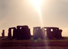 Stonehenge (Wiltshire): a ray of light (photo by Miguel Torres)