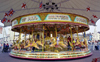 England (UK) - Southport (Merseyside): Merry-go-Round - photo by David S. Jackson