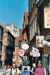York, North Yorkshire, England: York: the Shambles - photo by D.Jackson