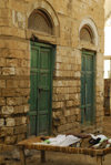 Eritrea - Massawa, Northern Red Sea region: a woman sleeping al fresco - old quarter - photo by E.Petitalot