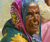 Eritrea - Keren, Anseba region: old Tigrinya woman with nose piercing - Tigray-Tigrinya people - photo by E.Petitalot