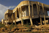 Eritrea - Senafe, Southern region: building damaged by the war - photo by E.Petitalot