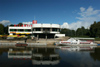 Estonia - Tartu / TAY (Tartumaa province): Atlantis Club and the River Emajõgi - photo by A.Dnieprowsky