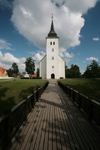 Estonia - Viljandi: St John Church - photo by A.Dnieprowsky