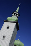 Estonia, Tallinn, Traditional wooden church spire and dome - photo by J.Pemberton