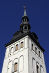 Estonia, Tallinn: St Nichola's Church spire - photo by J.Pemberton