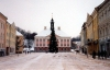 Estonia - Tartu: main square - town hall / Raekoja plats (photo by M.Torres)