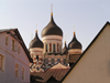 Estonia - Tallinn: onion roofs - Alexander Nevski Orthodox Cathedral - photo by J.Kaman