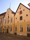 Estonia - Tallinn: House of the Brotherhood of the Blackheads - guild hall - Mustpeade Maja - Pikk street 26 - photo by J.Kaman