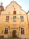Estonia - Tallinn: House of the Brotherhood of the Blackheads - guild hall - Mustpeade Maja - Pikk 26 - façade - photo by J.Kaman