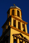 Addis Ababa, Ethiopia: St Ragueal church - bell tower - photo by M.Torres