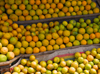 Addis Ababa, Ethiopia: fruit shop - oranges - photo by M.Torres