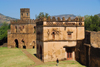 Gondar, Amhara Region, Ethiopia: Royal Enclosure - Yohannes Library and Fasiladas' archive - photo by M.Torres