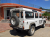 Axum - Mehakelegnaw Zone, Tigray Region: Hotel Remhai - UNMEE Land Rover - United Nations Mission in Ethiopia and Eritrea - photo by M.Torres