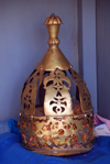 Axum - Mehakelegnaw Zone, Tigray Region: St Mary of Zion Museum - crown worn by Axums' kings - photo by M.Torres