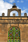 Axum - Mehakelegnaw Zone, Tigray Region: OLd Church of St Mary of Zion - detail - photo by M.Torres