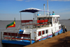 Bahir Dar, Amhara, Ethiopia: ferry to Dek island - photo by M.Torres