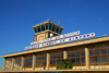 Bahir Dar, Amhara, Ethiopia: Bahir Dar Ginbot 20 airport - terminal and control tower - IATA: BJR, ICAO: HABD - photo by M.Torres