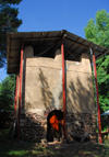 Lake Tana, Amhara, Ethiopia: Kebran Gabriel Monastery - old watch tower, now the museum - photo by M.Torres