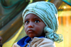 Addis Ababa, Ethiopia: merkato - toddler - photo by M.Torres