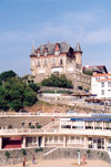 Basque Country / Pais Vasco / Euskadi - Biarritz (Pyr�n�es Atlantiques - Aquitaine): old harbour - photo by M.Torres