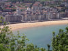 Basque Country / Pais Vasco / Euskadi - Donostia / San Sebastian: La Concha Beach - photo by R.Wallace