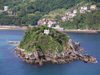 Basque Country / Pais Vasco / Euskadi - Donostia / San Sebastian: isla de Santa Clara / Santa Clara island - photo by R.Wallace