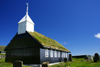 Kaldbak, Streymoy island, Faroes: old timber church built in 1835 - Evangelical-Lutheran - F�roya Kirkja - Torshavnar municipality - photo by A.Ferrari