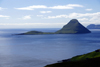 Streymoy island, Faroes: view over Koltur island - photo by A.Ferrari