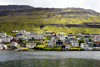Klaksvik, Borðoy island, Norðoyar, Faroes: waterfront - the second largest town of the Faroe Islands - photo by A.Ferrari