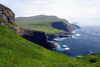 Mykines island, Faroes: view over the south coast - photo by A.Ferrari