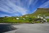 Leynar village, Streymoy island, Faroes: the beach - western coast of the island - photo by A.Ferrari