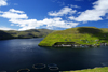 Vestmanna, Streymoy island, Faroes: fish farming - aquaculture open water fish cages - photo by A.Ferrari