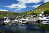 Vestmanna, Streymoy island, Faroes: fishing boats in the harbour - photo by A.Ferrari