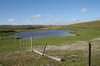 Falkland islands - East Falkland - Port Louis - pond - photo by Christophe Breschi