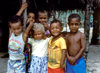 Naviti Island, Yasawa group, Fiji: Fijian children in the village of Soso - photo by C.Lovell