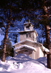 Finland - Lapland - Rovaniemi- Orthodox church - Arctic images by F.Rigaud