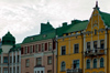 Finland - Helsinki, colourful buildings from the city center - photo by Juha Sompinm�ki