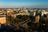 Finland - Helsinki, panorama view into the city - photo by Juha Sompinm�ki