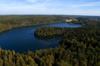 Finland - Hämeenlinna, Aulanko, Southern Finland province -  Tavastia Proper region - natural reserve and park, Finnish national landscape - meander shapped lake - photo by Juha Sompinmäki