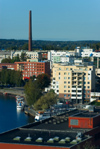 Finland - Tampere, panorama into the city - photo by Juha Sompinmäki
