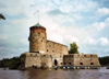 Finland - Savonlinna / Nyslott / SVL (Ita-Suomen Laani / Eastern Finland province - Southern Savonia region): island castle -  - Olavinlinna - the medieval St. Olaf's Castle - Mikkeli  (photo by Miguel Torres)