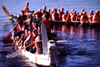 Finland - Tahko / Tahkovuori - Eastern Finland province - Northern Savonia region: dragon boats (photo by F.Rigaud)