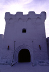 Finland - Lapland - Kemi - snow castle - entrance - tower - Arctic images by F.Rigaud