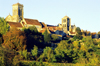 Vézelay, Yonne, Burgundy / Bourgogne, France: the town and Vézelay Abbey - photo by K.Gapys