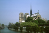 Paris, France: Notre Dame Cathedral, the Seine River and Ile Saint Louis - 4e arrondissement - photo by C.Lovell