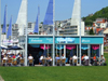 Le Havre, Seine-Maritime, Haute-Normandie, France: Grand Bleu Restaurant, Beach - photo by A.Bartel
