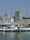 Le Havre, Seine-Maritime, Haute-Normandie, France: Yacht Harbour - marina - photo by A.Bartel